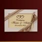 Czekoladki dziękujemy hania i arek w dniu ślubu