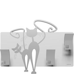 Wieszak ścienny Cats CalleaDesign aluminium 53-13-3-2
