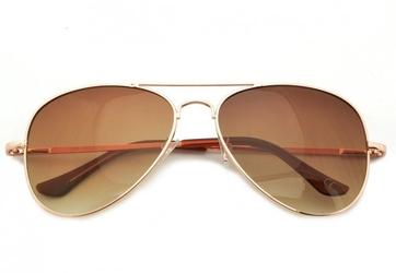 Okulary aviator pilotki przeciwsłoneczne std-19