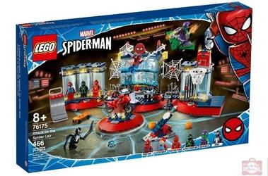 Lego 76175 spiderman atak na kryjówkę spidermana