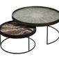 Notre monde :: zestaw stolików round tray rozm. lxl bez tac