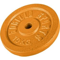 10 kg obciążenie na sztangę żeliwne złote 30 mm gorilla sports