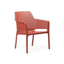 Fotel net relax - czerwony