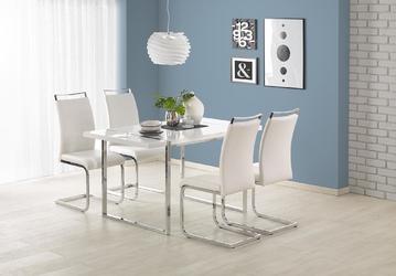 Stół do jadalni alben 140x80 cm biały