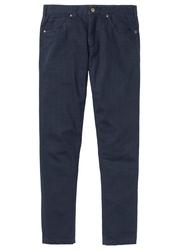 Spodnie regular fit straight bonprix ciemnoniebieski