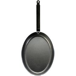 Patelnia owalna aluminiowa 36 x 26 cm choc de buyer d-8181-36