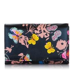 Skórzany damski portfel 1103-3 czarny