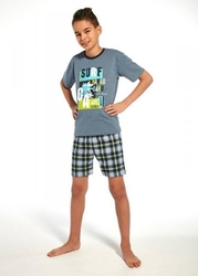 Piżama chłopięca cornette young boy 79070 surf krr 134-164