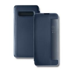 Qoltec Etui do Samsung S10 Lite Smart Flip Cover granatowe