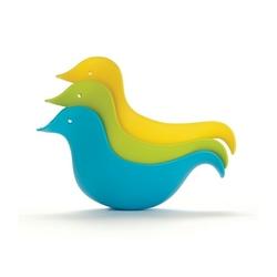 Nietypowe kaczki kąpielowe - niebieskie