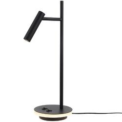 Lampka biurkowa led nowoczesna, minimalistyczna estudo maytoni czarna z010tl-l8b3k