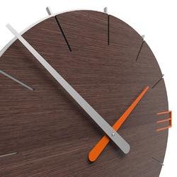 Zegar ścienny mike calleadesign terakota 10-019-24