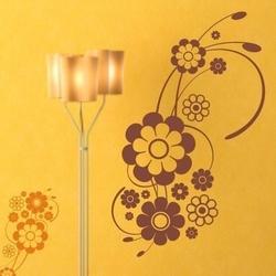 Kwiaty 1198 szablon malarski