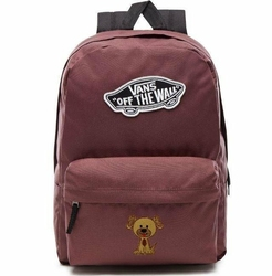 Plecak VANS Realm Backpack Custom Dog Piesek Catawba Grape - VN0A3UI6ALI 295