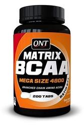 Aminokwasy qnt matrix bcaa 4800 200 tabletek
