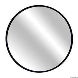 Gieradesign :: lustro skandynawskie scandi okrągłe w czarnej ramie śr. 40