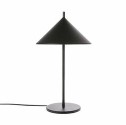 HK Living :: Lampa stołowa Triangle metalowa czarna - Czarny