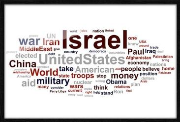Israel - plakat