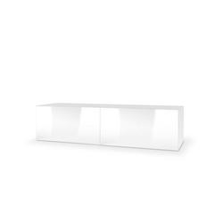 Tres szafka wisząca rtv 160 biała wysoki połysk