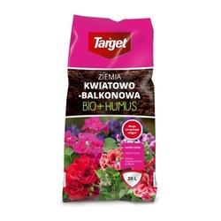 Ziemia kwiatowo balkonowa – bio + humus – 20 l target