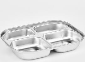 Lunchbox dla dzieci, stalowy, szczelny, cztery przegródki infant cuitisan ec10205y