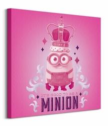 Minions King - Obraz na płótnie