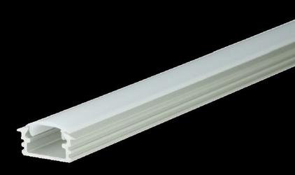 Profil aluminiowy anodowany + przesłona mleczna - M1