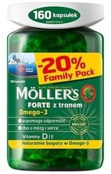 Mollers forte x 160 kapsułek