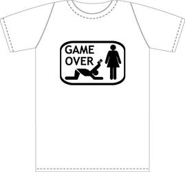 Koszulka GAME OVER Oddaj Kartę