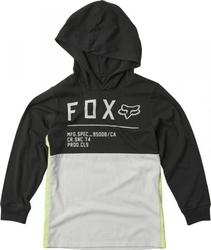 Fox koszulka junior z długim rękawem non stop b vi