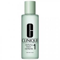 Clinique clarifying lotion 1 kosmetyki damskie - tonik do cery suchej 400ml