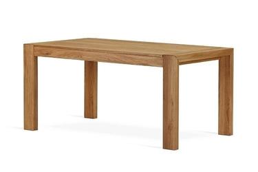 Nowoczesny rozkładany stół dębowy lorens  160x90 cm + 70 cm