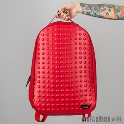 Plecak urban junk - dot to dot red