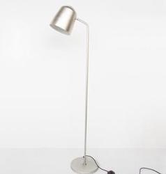 Urban nature culture :: lampa podłogowa metalowa eye srebrna