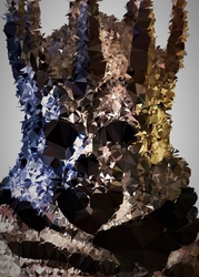 Polyamory - eredin, wiedźmin v.1 - plakat wymiar do wyboru: 70x100 cm