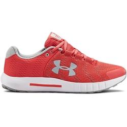 Buty biegowe damskie ua w micro g pursuit bp - czerwony