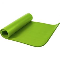 Mata do ćwiczeń fitness jogi duża 190x100x1,5 cm antypoślizgowa limonka