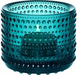 Świecznik Kastehelmi seablue