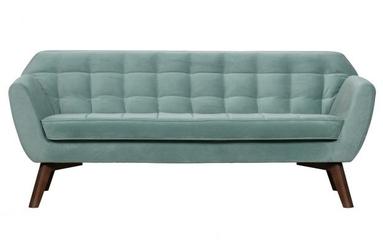 Woood sofa roxy aksamit jasnoniebieski 373299-b