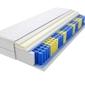 Materac kieszeniowy sofia 150x195 cm średnio twardy visco memory jednostronny