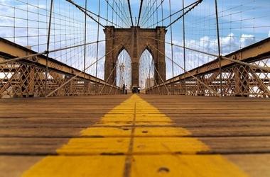 Brooklyn bridge - fototapeta
