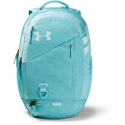 Plecak under armour hustle 4.0 backpack - niebieski
