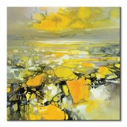 Yellow matter 2 - obraz na płótnie