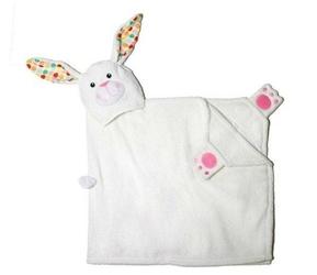 Ręcznik z kapturkiem - królik