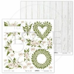 Ozdobny papier do scrapbookingu First Love 30,5x30,5 cm - 05 - 05