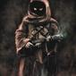 Star wars gwiezdne wojny jawa - plakat premium wymiar do wyboru: 21x29,7 cm