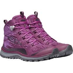 Buty trekkingowe damskie keen terradora evo mid - różowy