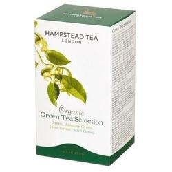 Hampstead | green selection – zestaw zielonych herbat saszetki 40g | organic