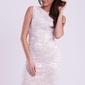 Emamoda sukienka - biały 12010-3