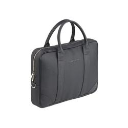 Czarna stylowa i elegancka torba na laptopa sempertus